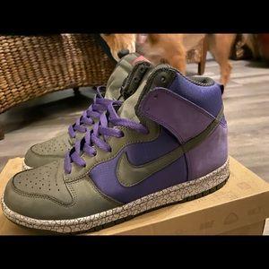 Earthquake Dunk Purple